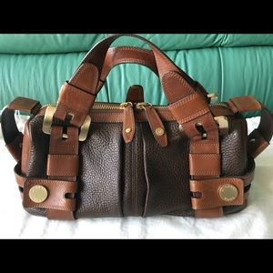 Michael Kors Leather Harness Satchel